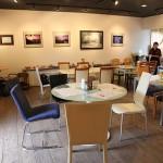 ニッセイギャラリー 稲音館(とうおんかん) アート作品に囲まれてのご飯は楽しい!