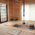 竹の子村囲炉裏の間で食べるご飯は最高!