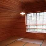 竹の子村木の温もりを感じるお部屋