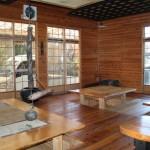 岩戸鉱泉 ◎体験民宿 囲炉裏がある食堂