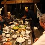 ファームロッジ濵田 夕食のだんらん