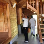 いちき串木野市の枇榔さんが同市初の農家民宿開業に向け、さつま町の「竹の子村」を視察しました。